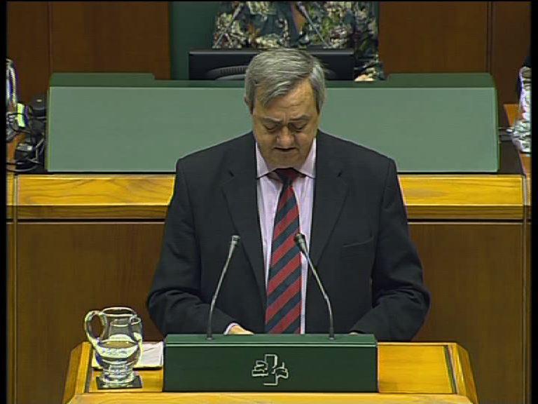 El Parlamento Vasco aprueba por unanimidad la Ley del Plan Vasco de Estadística [7:19]