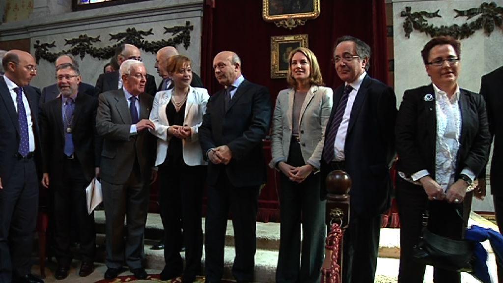 Homenaje al euskera en la Real Academia Española [60:44]
