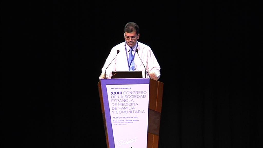 Segunda jornada del XXXII Congreso de la Sociedad Española de Medicina Familiar y Comunitaria (semFYC) en la Sala A1 del Euskalduna, modelo de congreso [60:23]
