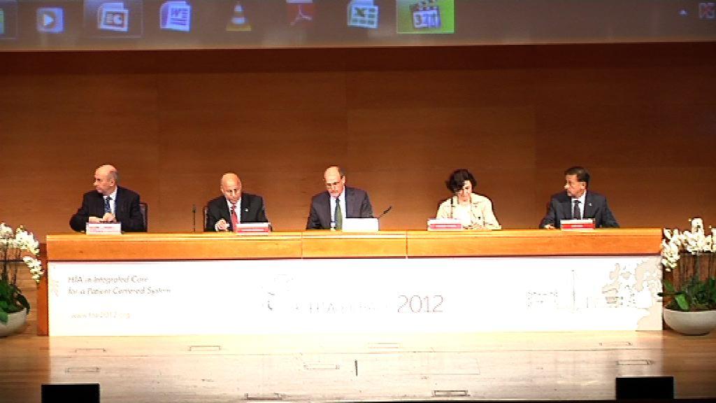 Authorities open 9th HTAi Annual Meeting Bilbao, el camino hacia la medicina personalizada  [108:59]