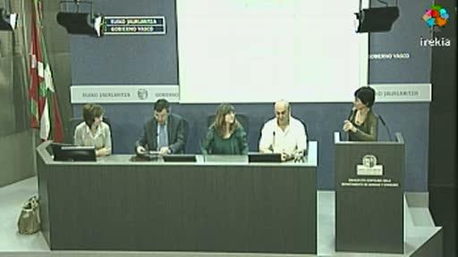 """Osakidetza presenta el Programa de Rehabilitación Cardiaca del Hospital de Basurto y la Comarca Bilbao y el blog """"Osakidetza con tu corazón"""" [24:52]"""
