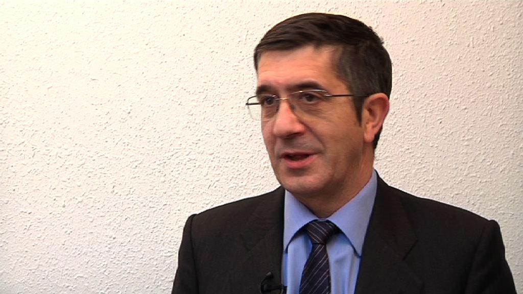 """El Lehendakari expresa su """"satisfacción"""" por la designación de Euskadi como la comunidad autónoma más transparente [2:37]"""