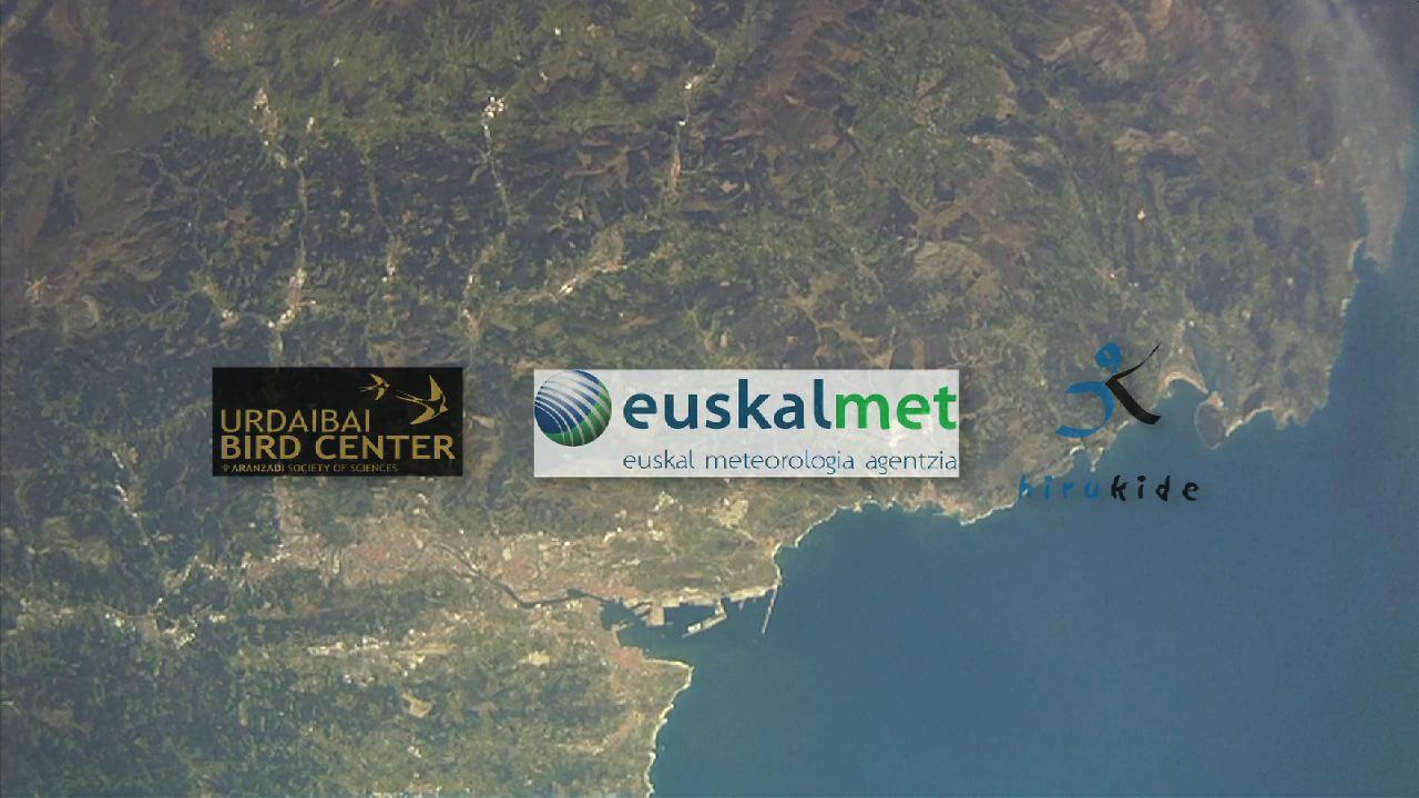 Euskalmet y el colegio Hirukide de Tolosa realizan una prueba conjunta de radiosondeo de carácter científico [11:05]