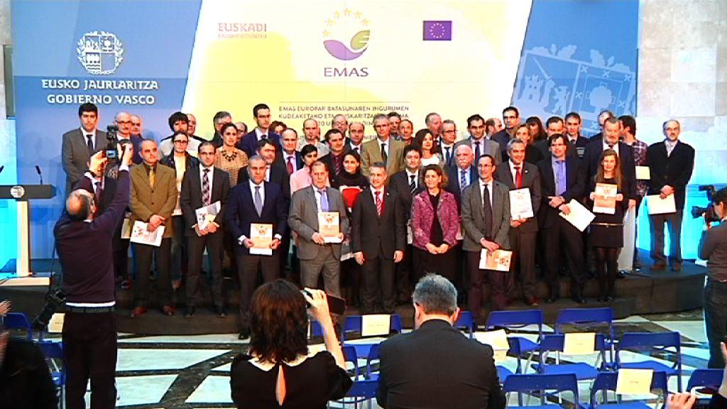 Euskadi ocupa el 5º puesto en Europa en número de certificaciones ambientales EMAS por delante de Francia, Reino Unido o Portugal