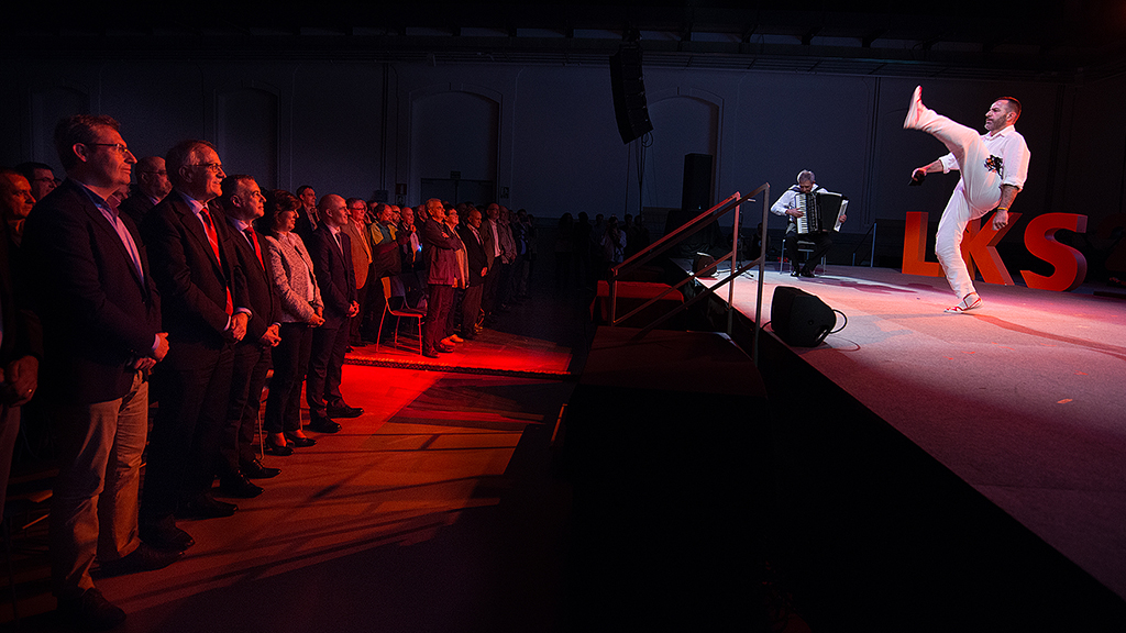 El lehendakari conmemora el 25 aniversario de la cooperativa LKS