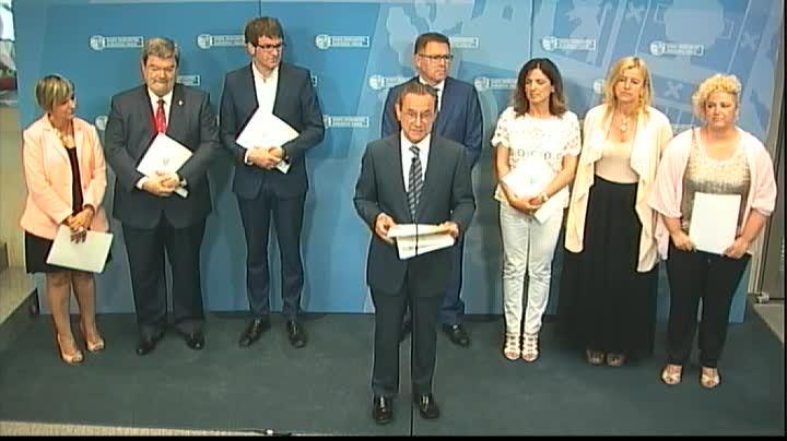 Las administraciones vascas firman un protocolo para estudiar y combatir el fenómeno de la exclusión residencial grave