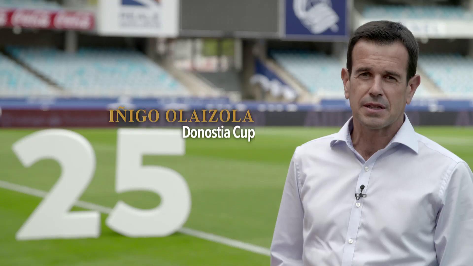Premios Comercio y Turismo 2016. Donostia Cup25 - Iñigo Olaizola
