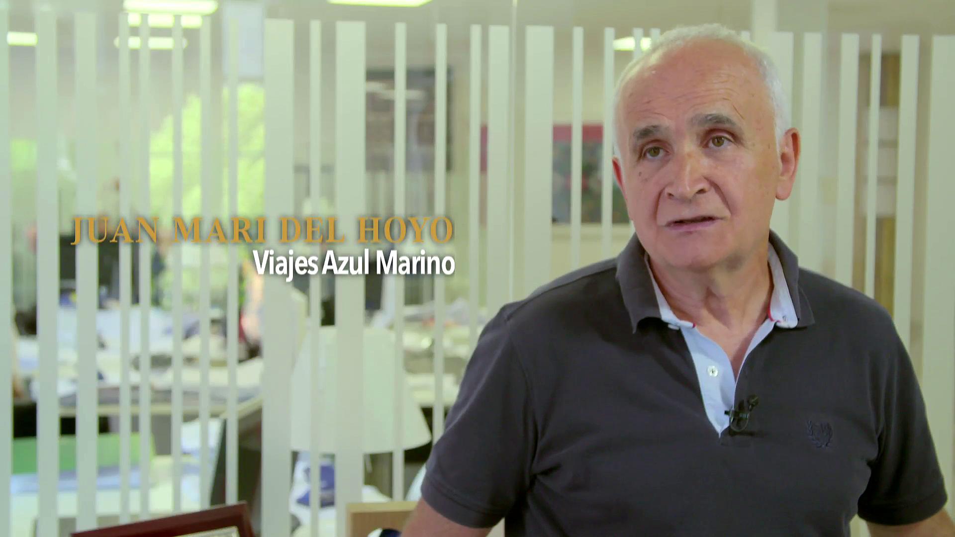 Premios Comercio y Turismo 2016. Viajes Azul Marino - Juan Mari del Hoyo