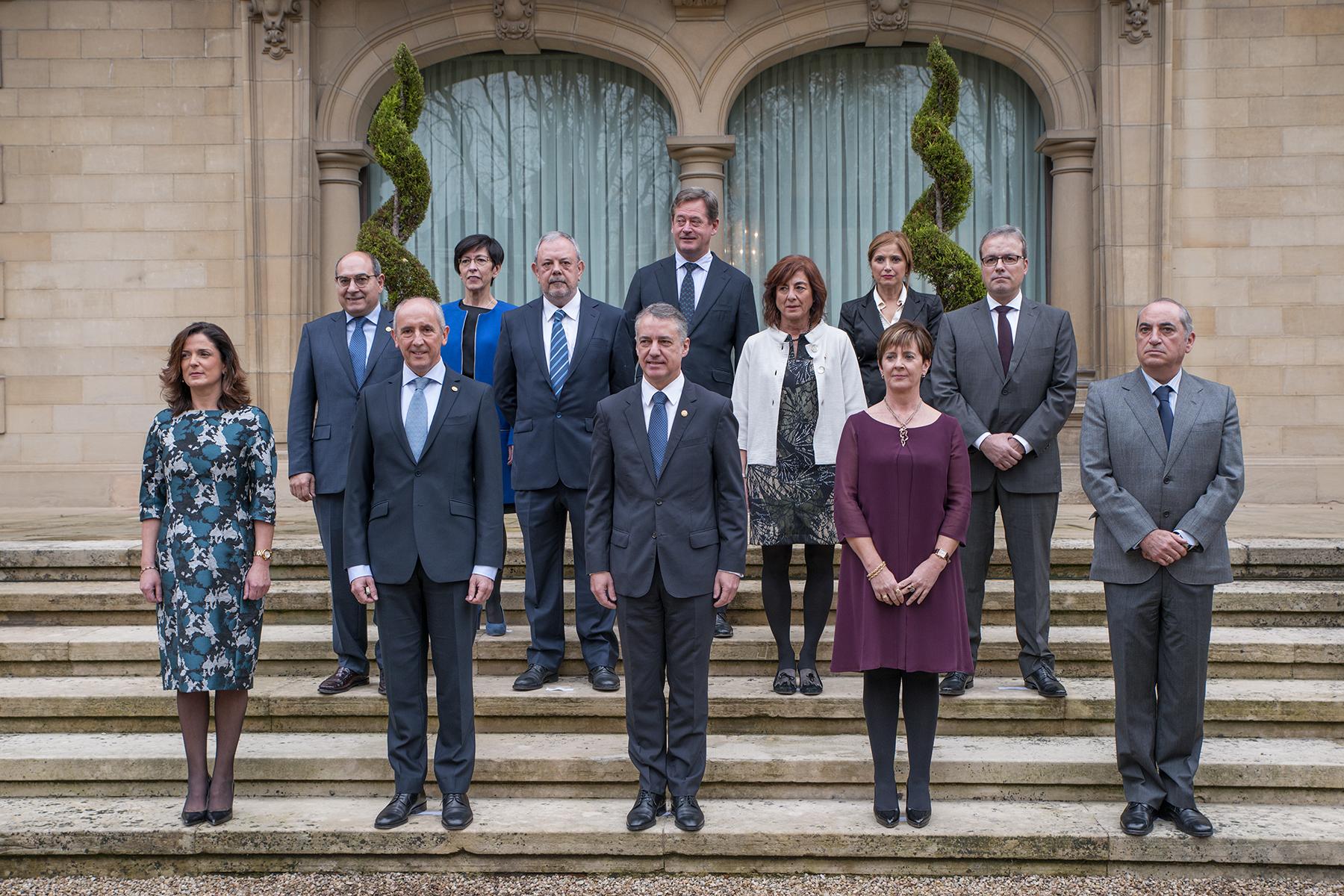 Los consejeros y consejeras del Gobierno Vasco toman posesión de sus cargos