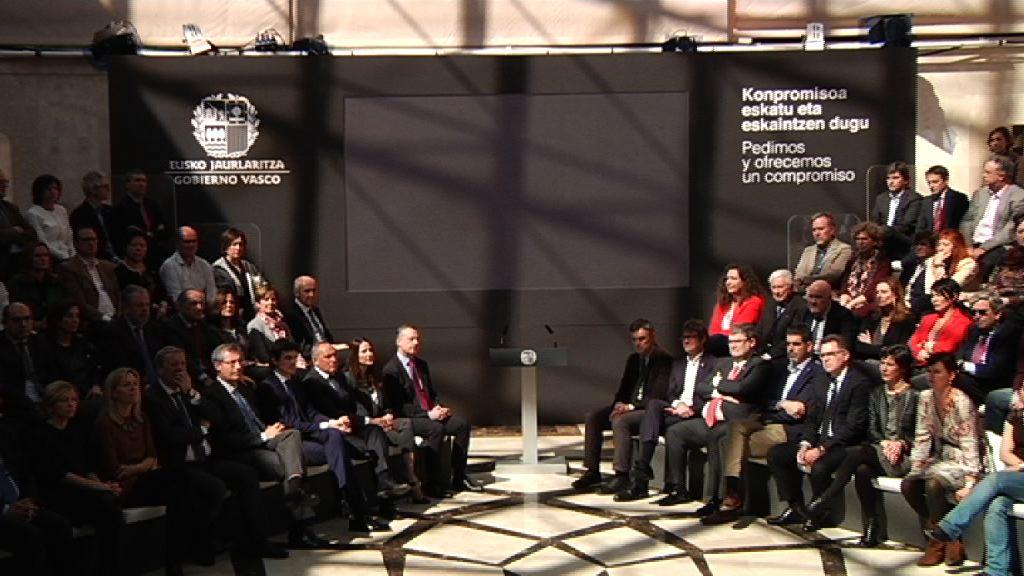 El Lehendakari ofrece el compromiso de Euskadi  en la acogida y asistencia de personas refugiadas