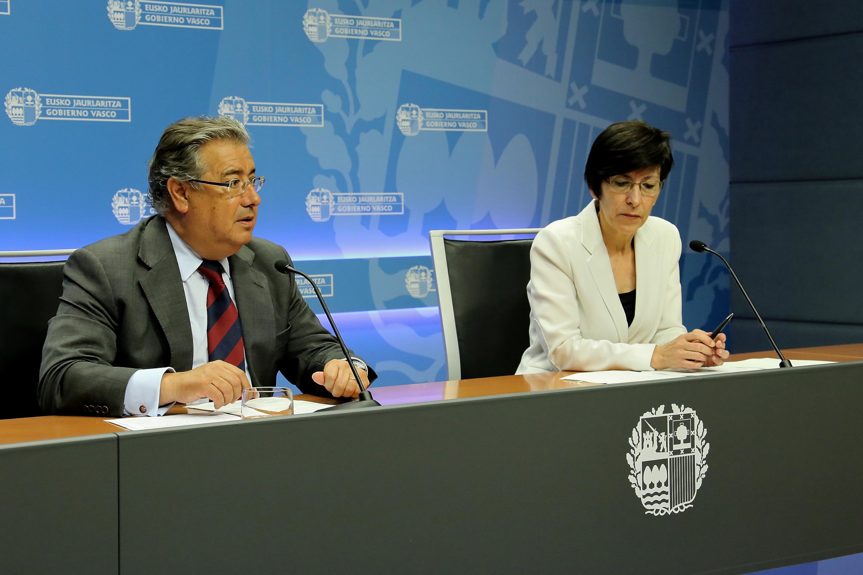 Irekia eusko jaurlaritza gobierno vasco ministerio for Pagina de ministerio de seguridad