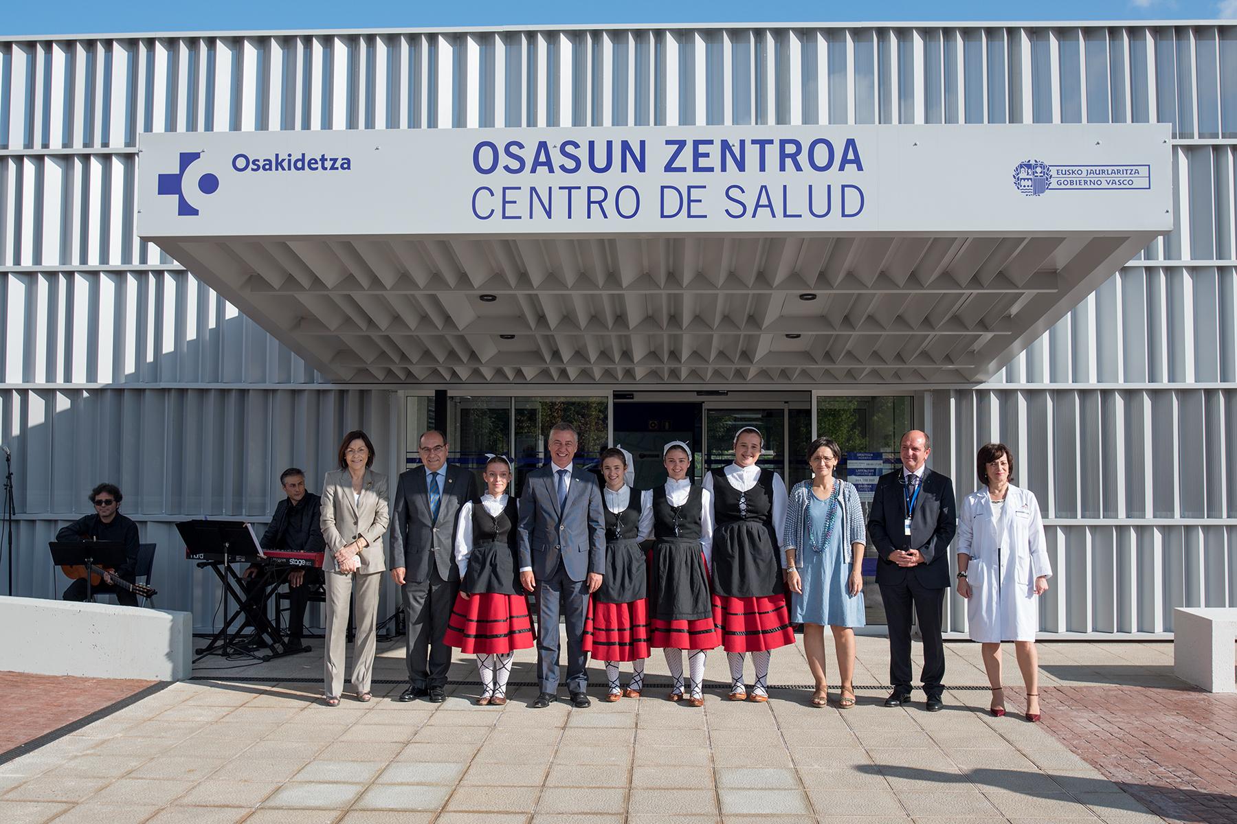 """Lehendakari: """"el nuevo centro de salud de Amurrio es un paso más en nuestra apuesta por potenciar la atención primaria en Euskadi"""""""