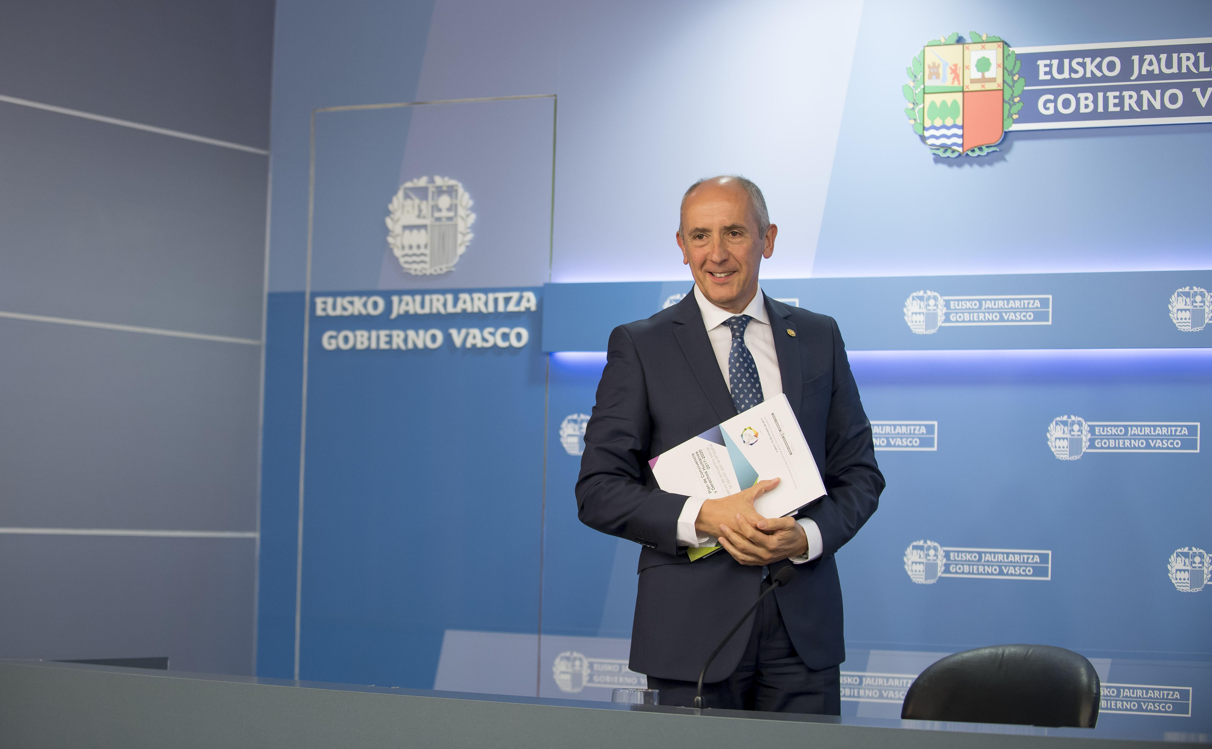 El Gobierno Vasco aprueba el Plan de Convivencia y Derechos Humanos 2017-2020 con la incorporación de 26 aportaciones