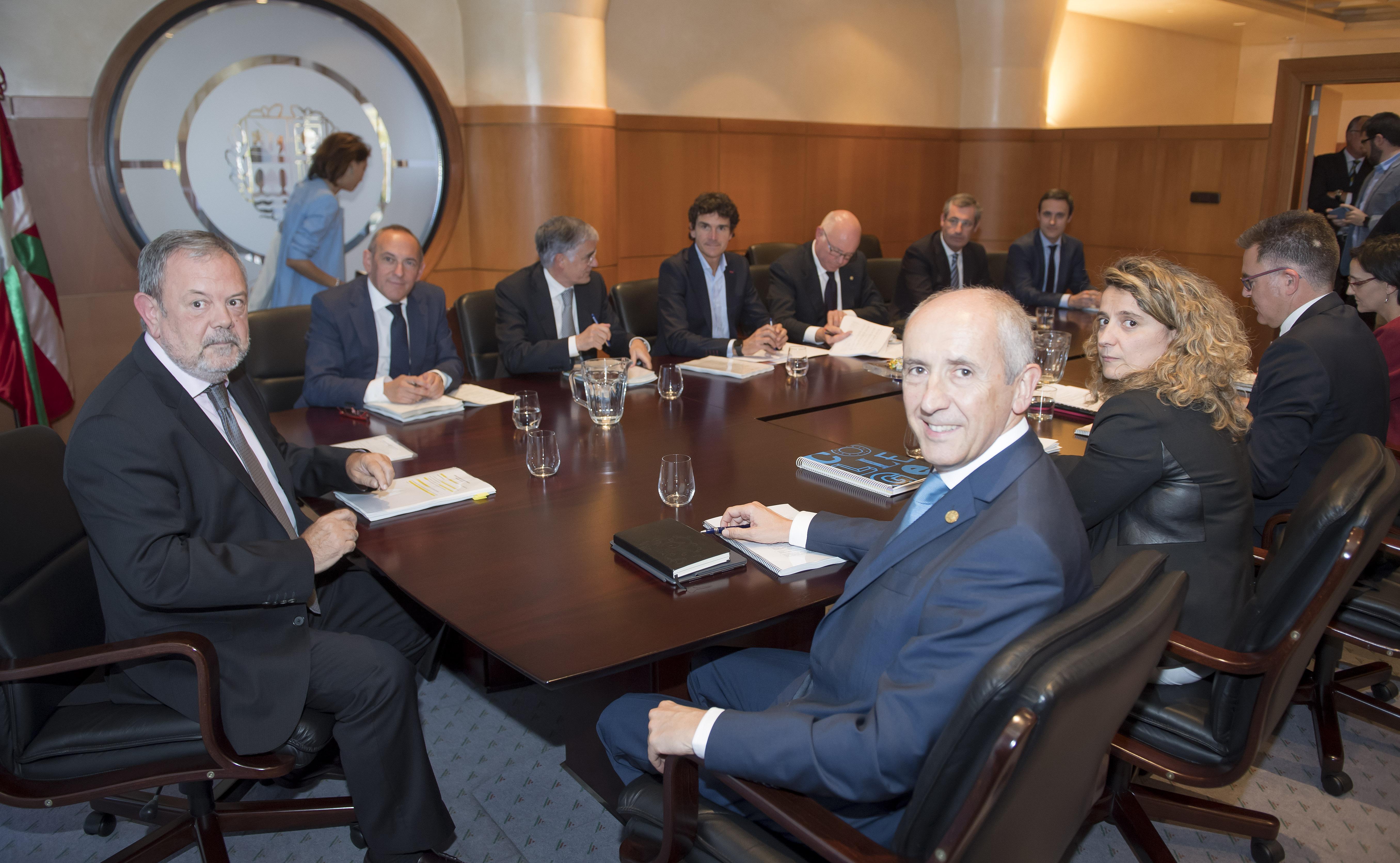 Reunión del Consejo Vasco de Finanzas Públicas