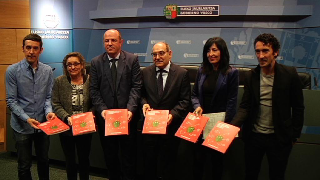Euskadi pone en marcha un proyecto novedoso con iniciativas concretas para mejorar la salud a través de la alimentación
