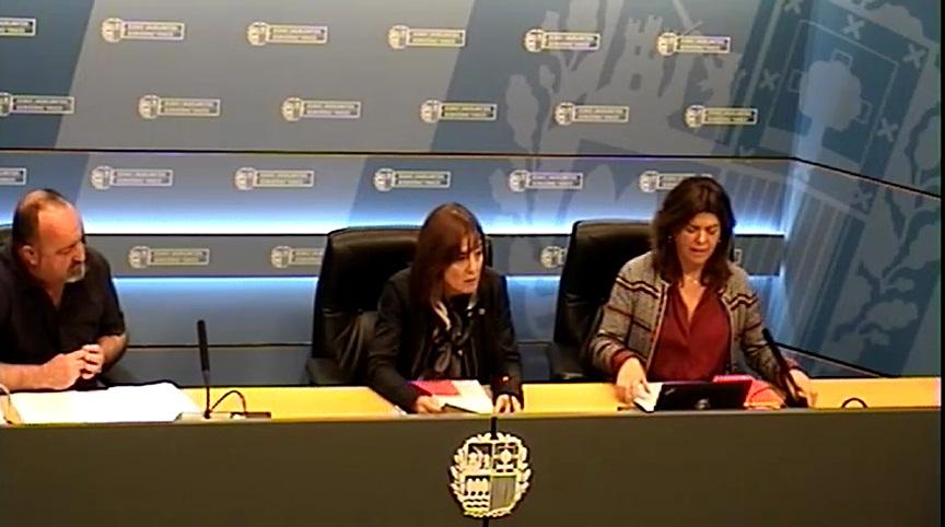 Cristina Uriartek Bizikasi Ekimena aurkeztu du, eskola jazarpenaren aurkako eta elkarbizitza positiborako ekimena