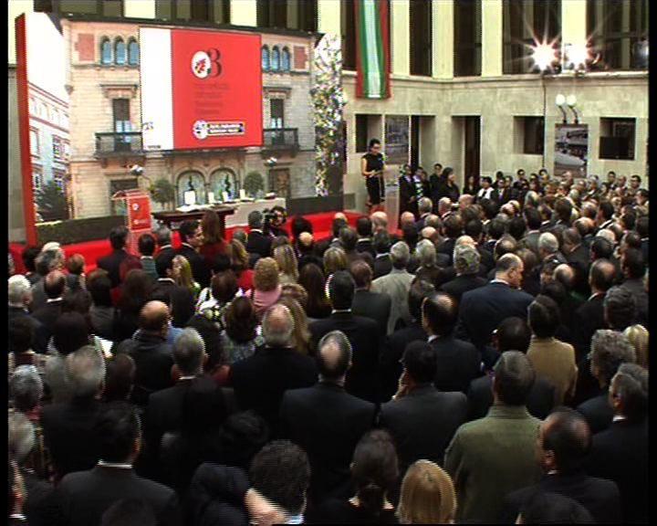 """El Lehendakari defiende la vigencia del Estatuto de Gernika como """"garantía de nuestro derecho a decidir"""" [2:04]"""