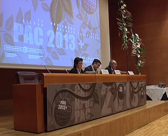 """El Gobierno Vasco ultima una reforma para dar """"voz y participación"""" al sector agrario [2:40]"""