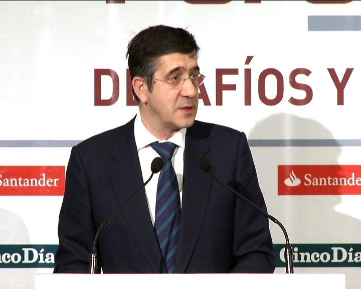 El Lehendakari anuncia que la economía vasca volverá a crecer a finales de año y a generar empleo en 2011 [1:25]