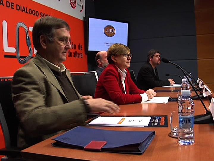El Gobierno Vasco pone en marcha LOTU para mejorar la prevención de riesgos laborales en la construcción [0:34]