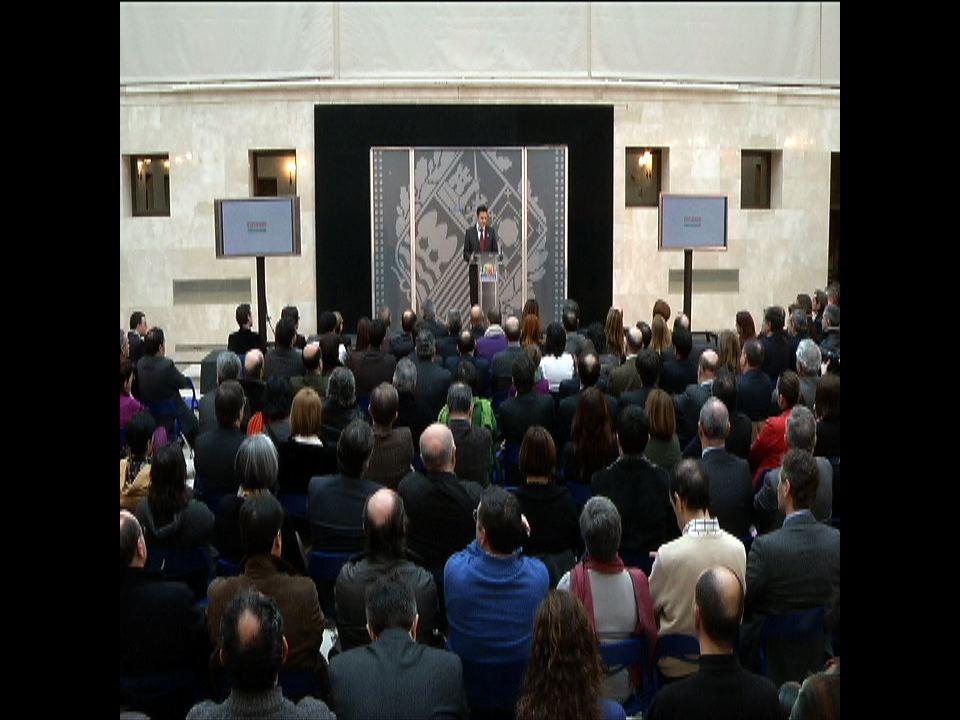 El Lehendakari propone un ´nuevo contrato social´ basado en la ´corresponsabilidad´ para hacer realidad la ´Euskadi de la libertad, sostenible, solidaria y competitiva´ [1:18]