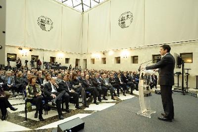 El Lehendakari propone un ´nuevo contrato social´ basado en la ´corresponsabilidad´ para hacer realidad la ´Euskadi de la libertad, sostenible, solidaria y competitiva´