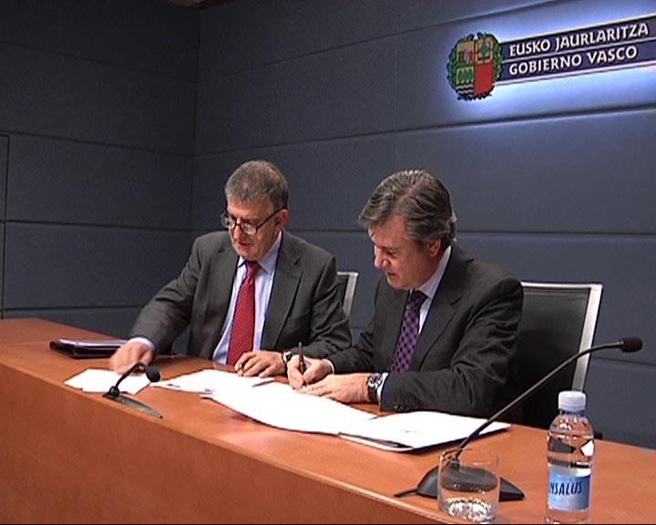 Acuerdo entre el Gobierno Vasco y Corporación Mondragón [0:37]