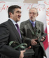 El Lehendakari recibe el Premio Carmen García Bloise