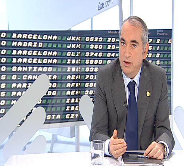 El Gobierno vasco crea un Comité de rutas aéreas de Euskadi [0:41]