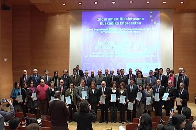 El Gobierno Vasco prevé superar en 2010 el medio centenar de entidades con la certificación ambiental EMAS [0:52]