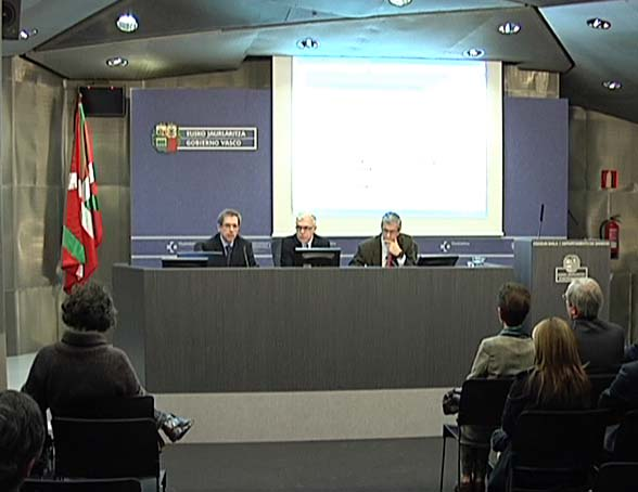 Un panel de expertos elaborará un Código de Buen Gobierno para la sanidad pública vasca [22:58]