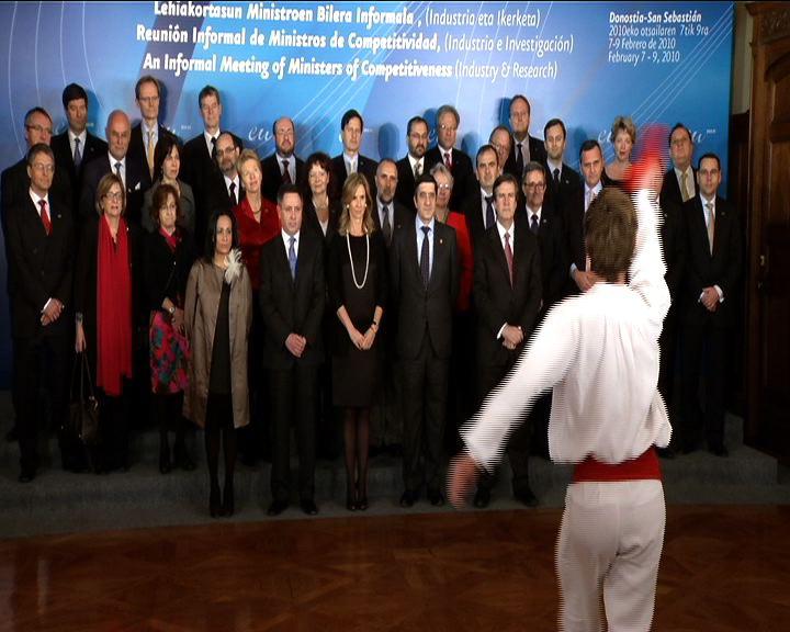 """El Lehendakari reclama una Europa """"moderna, competitiva, innovadora y sostenible"""" ante los ministros de Innovación, Ciencia e Industria de la UE [1:15]"""