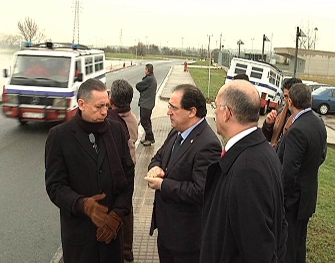 El dignatario mexicano visita Arkaute en el marco de una iniciativa promovida conjuntamente por este centro formativo y por el Instituto Vasco de Criminología [1:01]