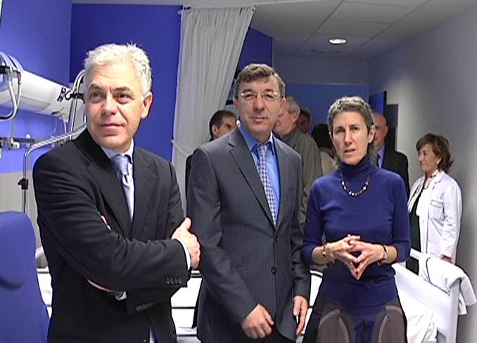 Inauguración de una Unidad de Hospitalización en el Hospital Santa Marina [1:27]