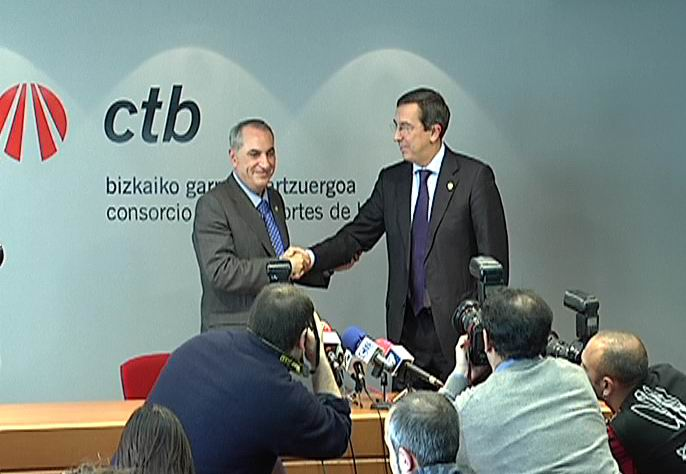 El Gobierno Vasco logra un acuerdo con la Diputación de Bizkaia para financiar las obras del Metro de Bizkaia [1:29]