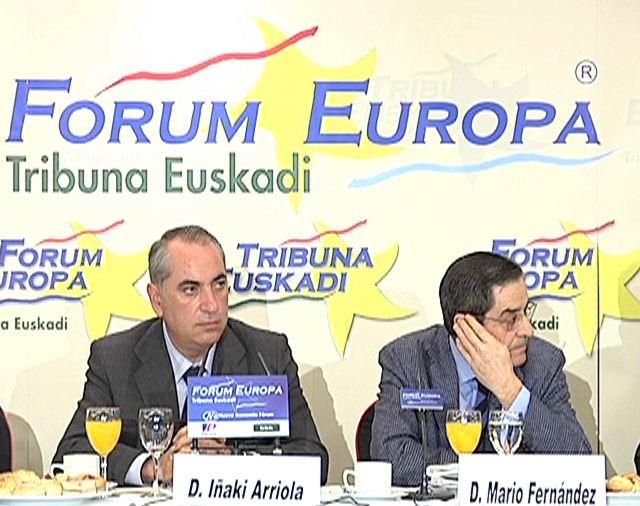 Arriola participa en la Conferencia-Desayuno Nueva Economía Forum [1:17]