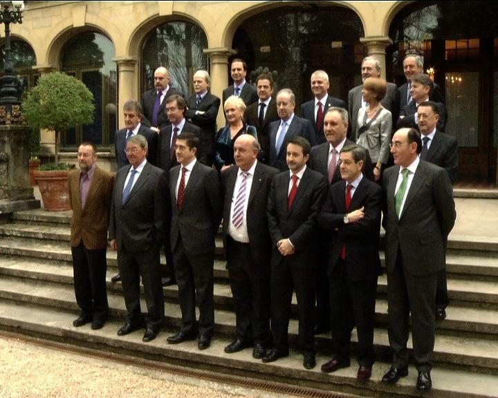 Primera reunión del Consejo Asesor Económico del Lehendakari [1:06]