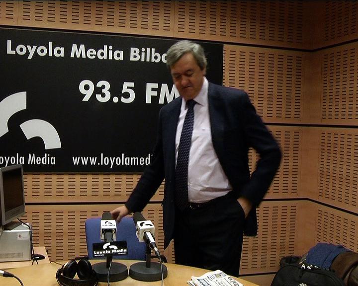 """Aguirre asegura que la economía vasca adelantará al segundo trimestre de este año """"tasas interanuales de crecimiento""""    [1:18]"""