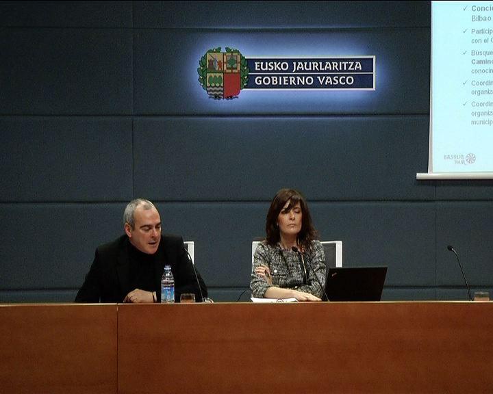 Presentación del Plan Director del Camino de Santiago a su paso por Euskadi [23:43]
