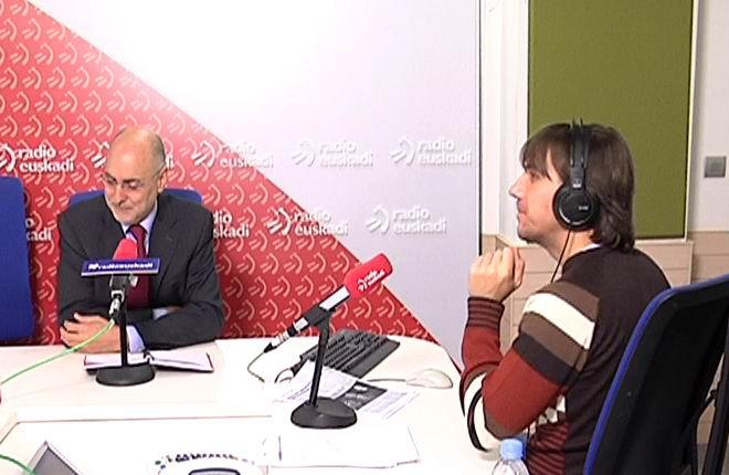 """Ares asegura que el Gobierno Vasco trabaja para que las empresas vascas """"mantengan la sede social en Euskadi"""" [0:35]"""