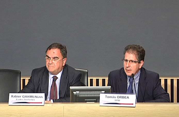 El Gobierno Vasco propició la creación de un centenar de empresas innovadoras en 2009 [30:40]