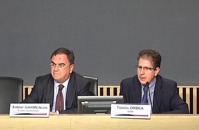 El Gobierno Vasco propició la creación de un centenar de empresas innovadoras en 2009 [0:30]