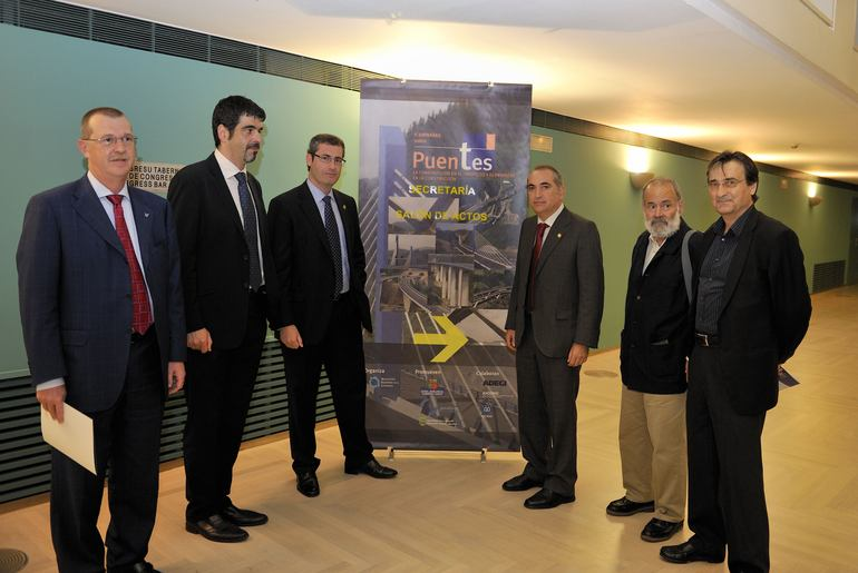 """Iñaki Arriola participa en la inauguración de las """"II Jornadas sobre Puentes. La Construcción en el Proyecto y el Proyecto en la Construcción"""""""