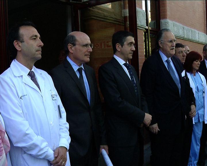 El Lehendakari inaugura el pabellón Aztarain del hospital de Basurto [1:43]