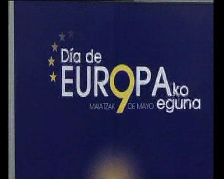 El Lehendakari preside el Día de Europa [27:07]