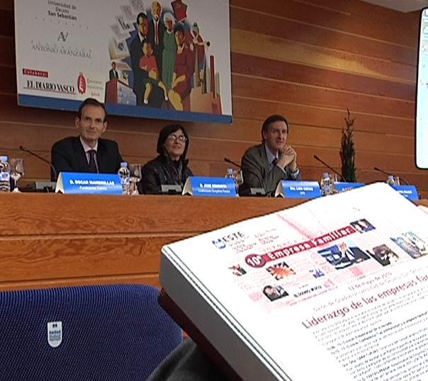 La SPRI celebra la jornada de la Empresa Familiar [0:34]