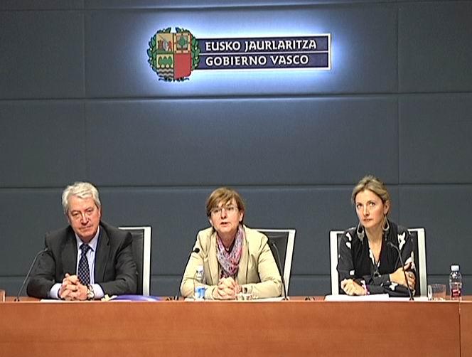 """El Gobierno Vasco impulsará un horario laboral """"flexible"""" para reducir las jornadas partidas [0:36]"""