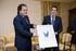 El Lehendakari recibe al Presidente de la Real Sociedad