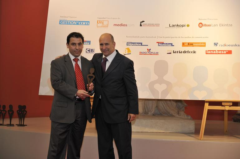 Entrega de los premios Bihotza Sariak