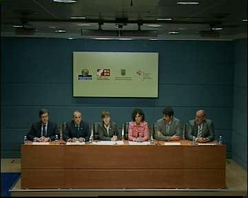Firma de convenio con  diputaciones para reforzar la seguridad laboral en las grandes infraestructuras [23:38]